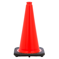 CONE SAFETY 18IN 3LB PVC MOLD