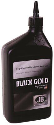 JB INDUSTRIES VACUUM PUMP OIL, BLACK GOLD, 1 QUART,