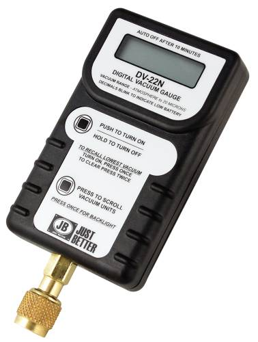 LEAK PROOF DIGITAL VACUUM GAUGE