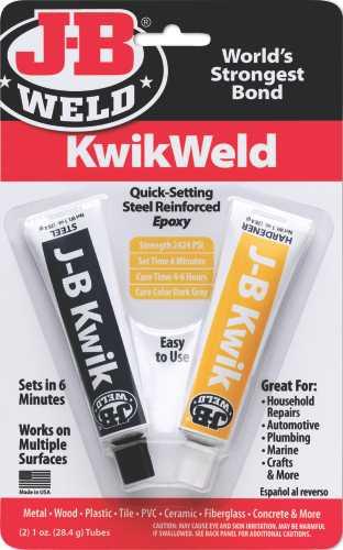 J-B WELD KWIKWELD EPOXY, 2 OZ.