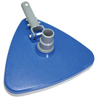 Jed Pool 30-164 Triangular Pool Vacuum, 11 in Width, Vinyl