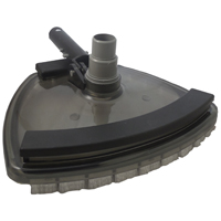 Jed Pool Pro Clear View Pool Vacuum, 11 in Width, Vinyl