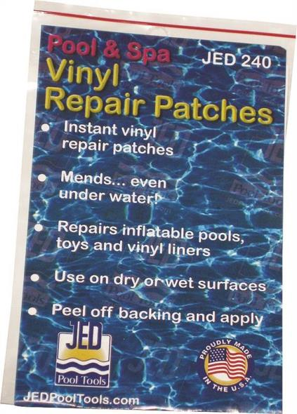 Jed Pool 35-240 Pool Repair Patch, For Use With Pools