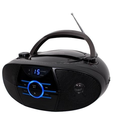 JENSEN CD560 PORTABLE STEREO COMPACT DISC PLAYER WITH AM FM