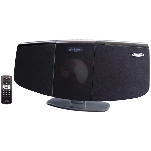 JENSEN JBS350 BLUETOOTH WALL MOUNTABLE MUSIC SYSTEM WITH CD