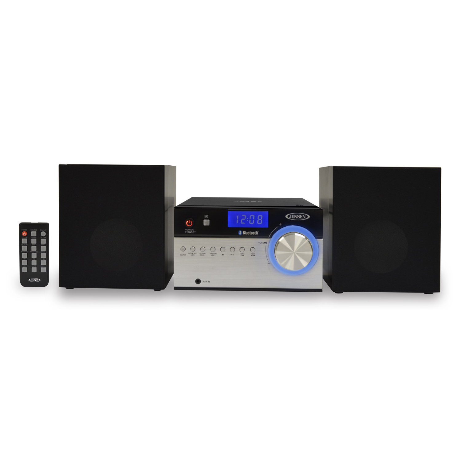 JENSEN JBS200 BLUETOOTH CD MUSIC SYSTEM WITH DIGITAL AM FM
