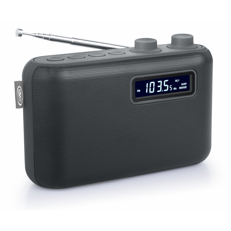 JENSEN SR50 PORTABLE AM FM DIGITAL RADIO WITH 10 PRESET