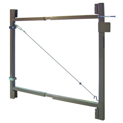 Adjust-A-Gate Consumer Adjustable Gate Frame, 1-1/2 in Square Frame, 36 - 72 in Wide Opening