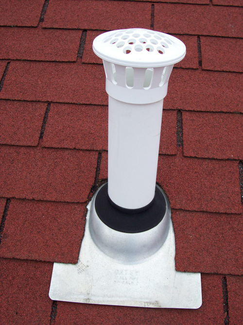 Roof Vent Guard (case of 36 in white)