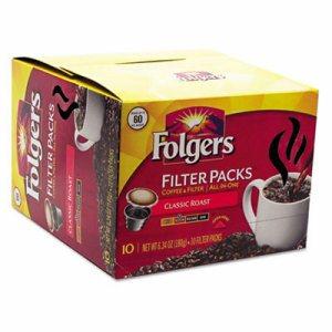 Coffee Filter Packs, Classic Roast, 60/Carton