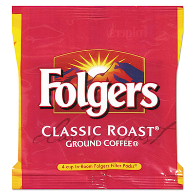 Coffee, Classic Roast Regular, 6 oz, Fraction Pack, 200/Carton