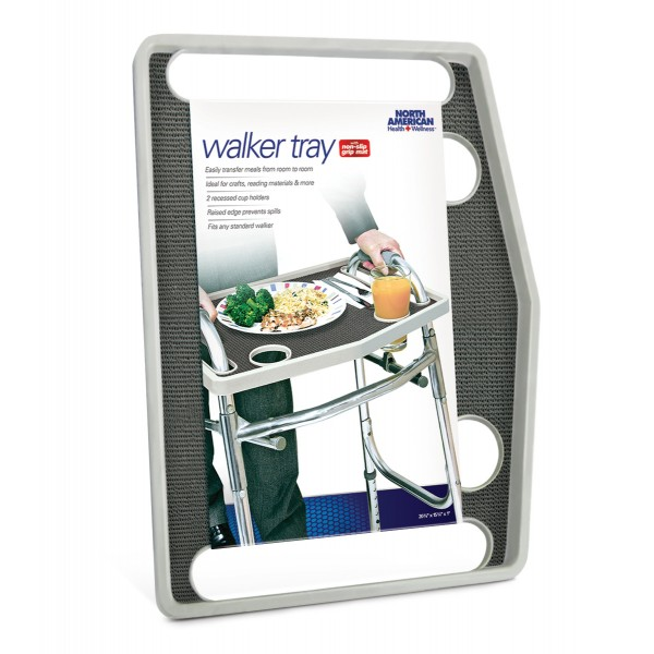 NORTH AMERICAN JB7591GRA WALKER TRAY FOR MEALS