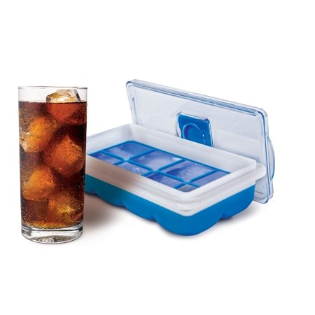 HANDY GOURMET JB8237BLU BLUE NO SPILL SLIM ICE CUBE TRAY