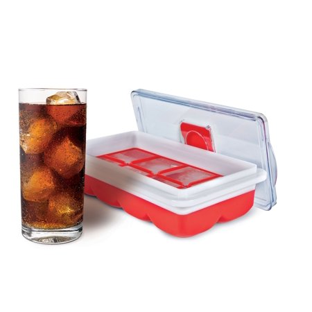 HANDY GOURMET JB8237RED NO SPILL SLIM ICE CUBE TRAY