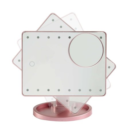 ESTELLE ES91200-13 ROSE GOLD-MAKEUP MIRROR.