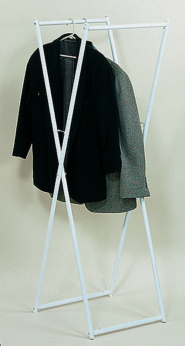 IDEAWORKS JT1299 FOLDING CLOTHES RACK TO HANG CLOTHES