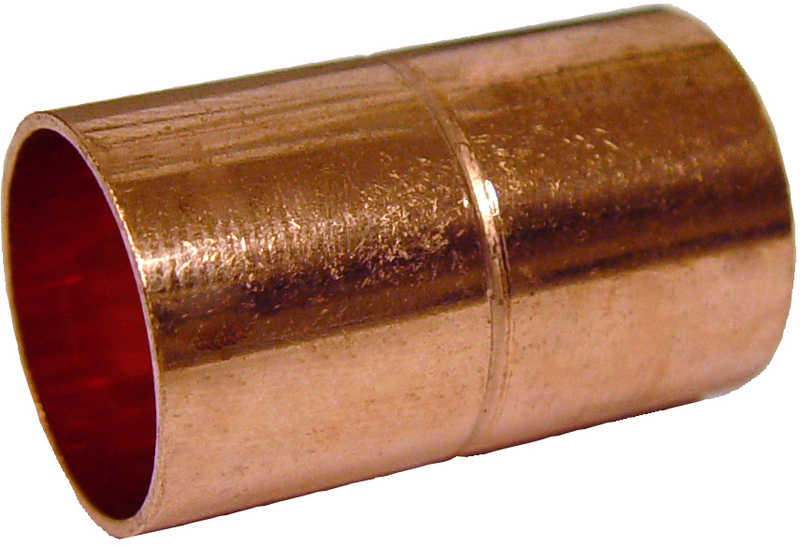 1/4 IN. COPPER COUPLING (RL STOP)