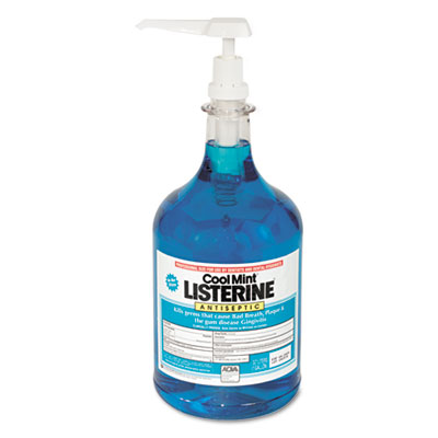 Cool Mint Mouthwash, 1 Gallon Pump, 2/Carton