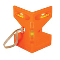 LEVEL POST ORANGE ABS PLASTIC