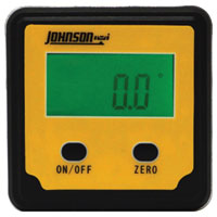 Johnson Level 1886-0000 Angle Locators, Digital, Magnetic