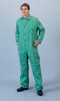 Tillman+ 2X Green 9 Ounce Westex+ Proban+ FR7A+ Cotton Flame Retardant Coveralls With Snap Front Closure
