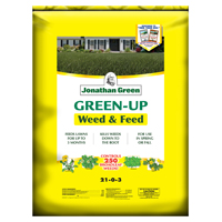 Jonathan 12346 Lawn Fertilizer, 15 lb, Bag, 5000 sq-ft, Granular