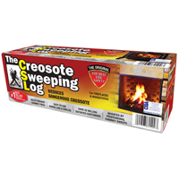 LOG CREOSOTE SWEEPING