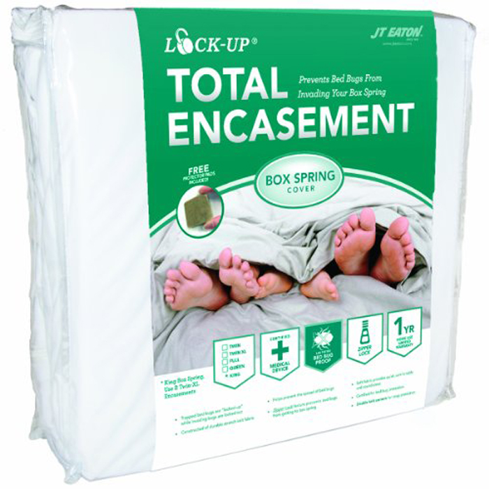 JT Eaton™ Bed Bug Lock-Up® Total Encasement Box Spring Cover, Twin XL