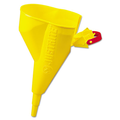 "Polyethylene Funnel, Type I Safety Cans, 1/2"", Yellow"