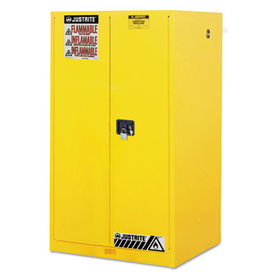 Sure-Grip EX Standard Safety Cabinet, 34w x 34d x 65h, Yellow