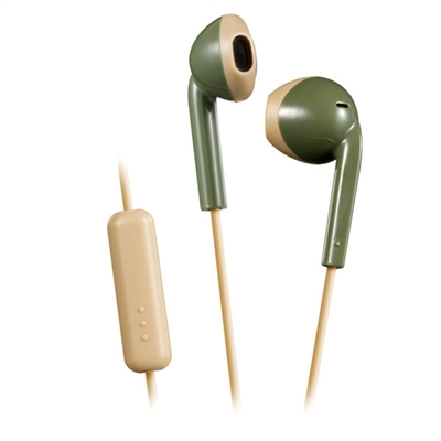 Retro Series Wire Earbd Green