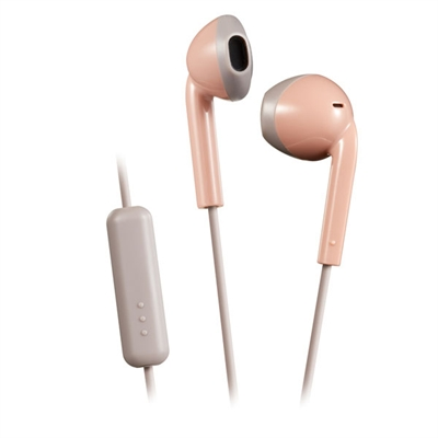 Retro Series Wire Earbd Pink