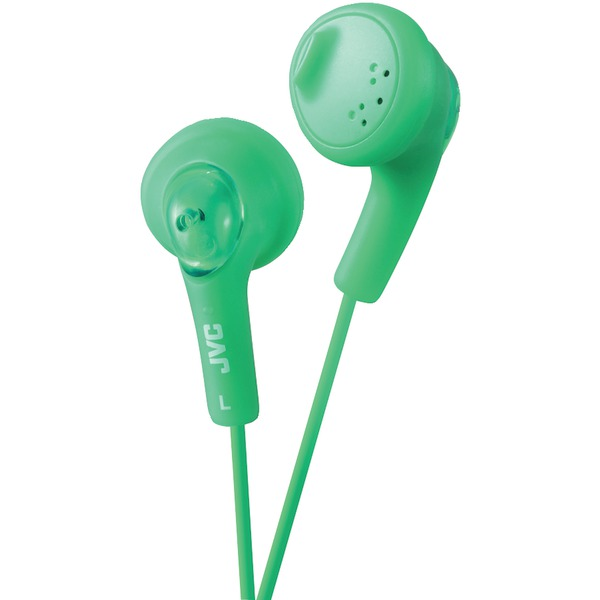 JVC HAF160G Gumy Earbuds (Green)