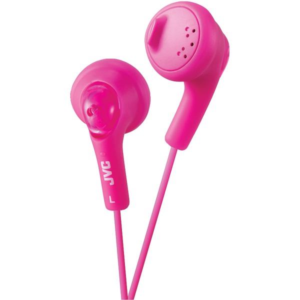 JVC HAF160P Gumy Earbuds (Pink)