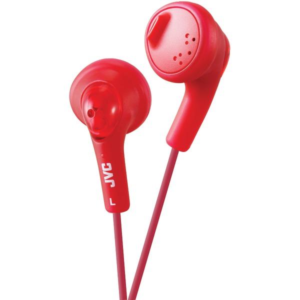 JVC HAF160R Gumy Earbuds (Red)