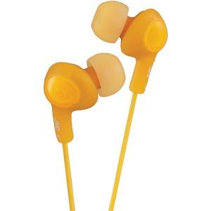 JVC HAFX5D Gumy Plus Inner-Ear Earbuds (Orange)