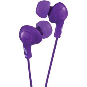 JVC HAFX5V Gumy Plus Inner-Ear Earbuds (Violet)