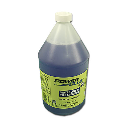 Cleaning Product, Power Blue, Waterline & Tile Cleaner, 1 Gallon Bottle
