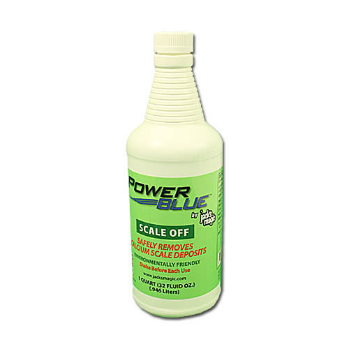 Cleaning Product, Power Blue, Scale Off, 32oz Bottle