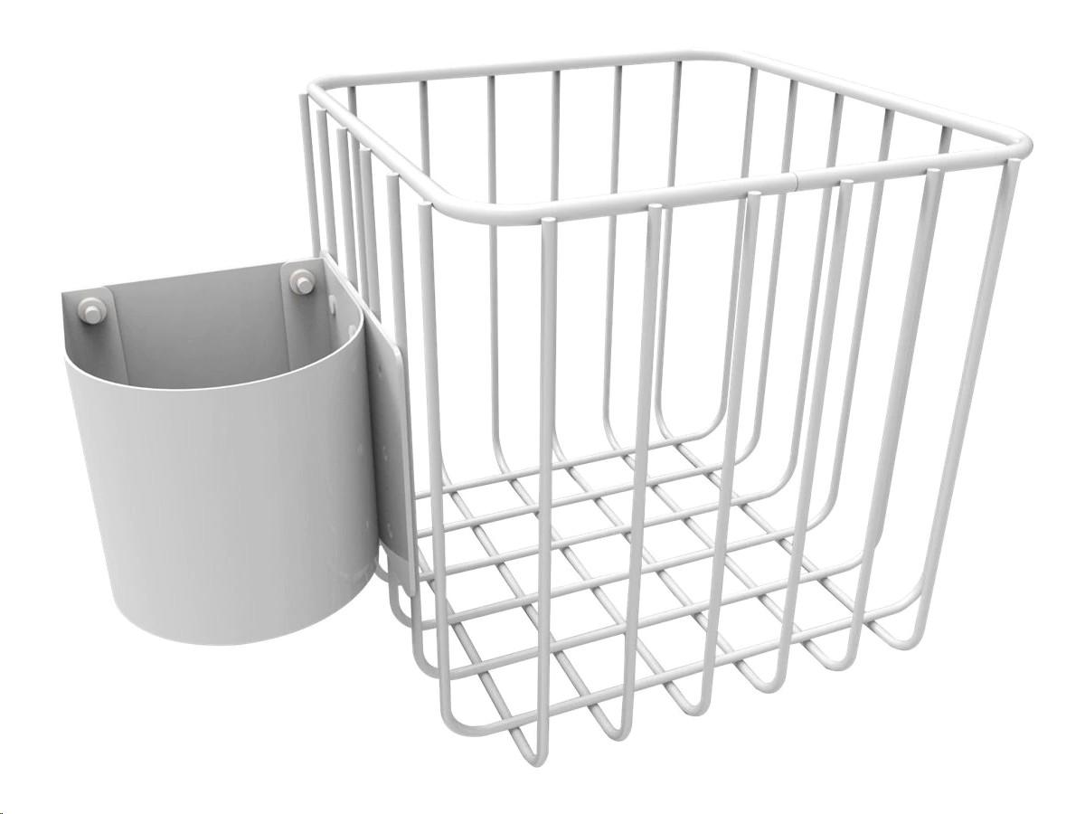 "Jaco Wire Basket 6""x6""x6"" Post Mount 51-3932"