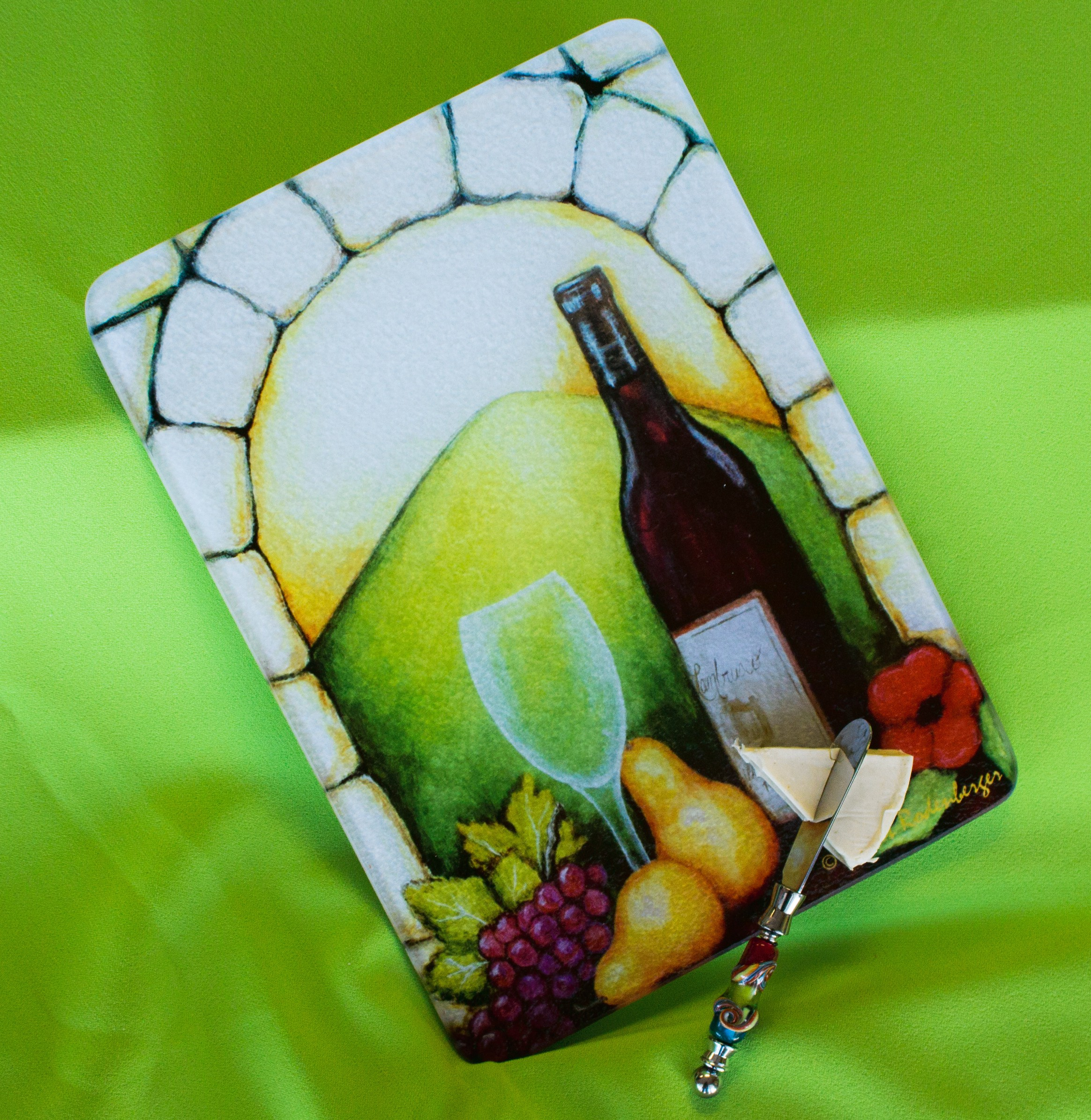 Vino View Cutting Board