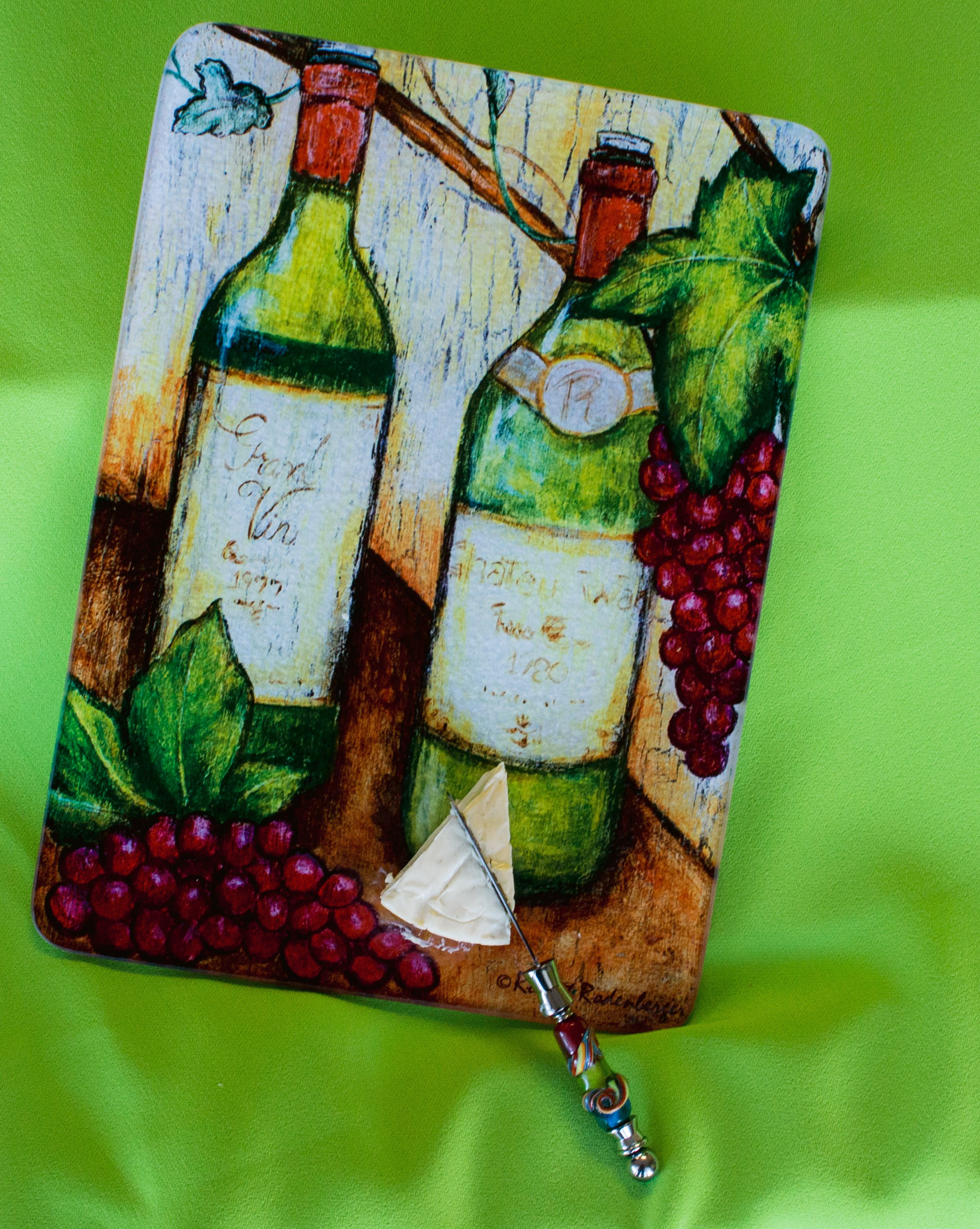 White Wine Cutting Board