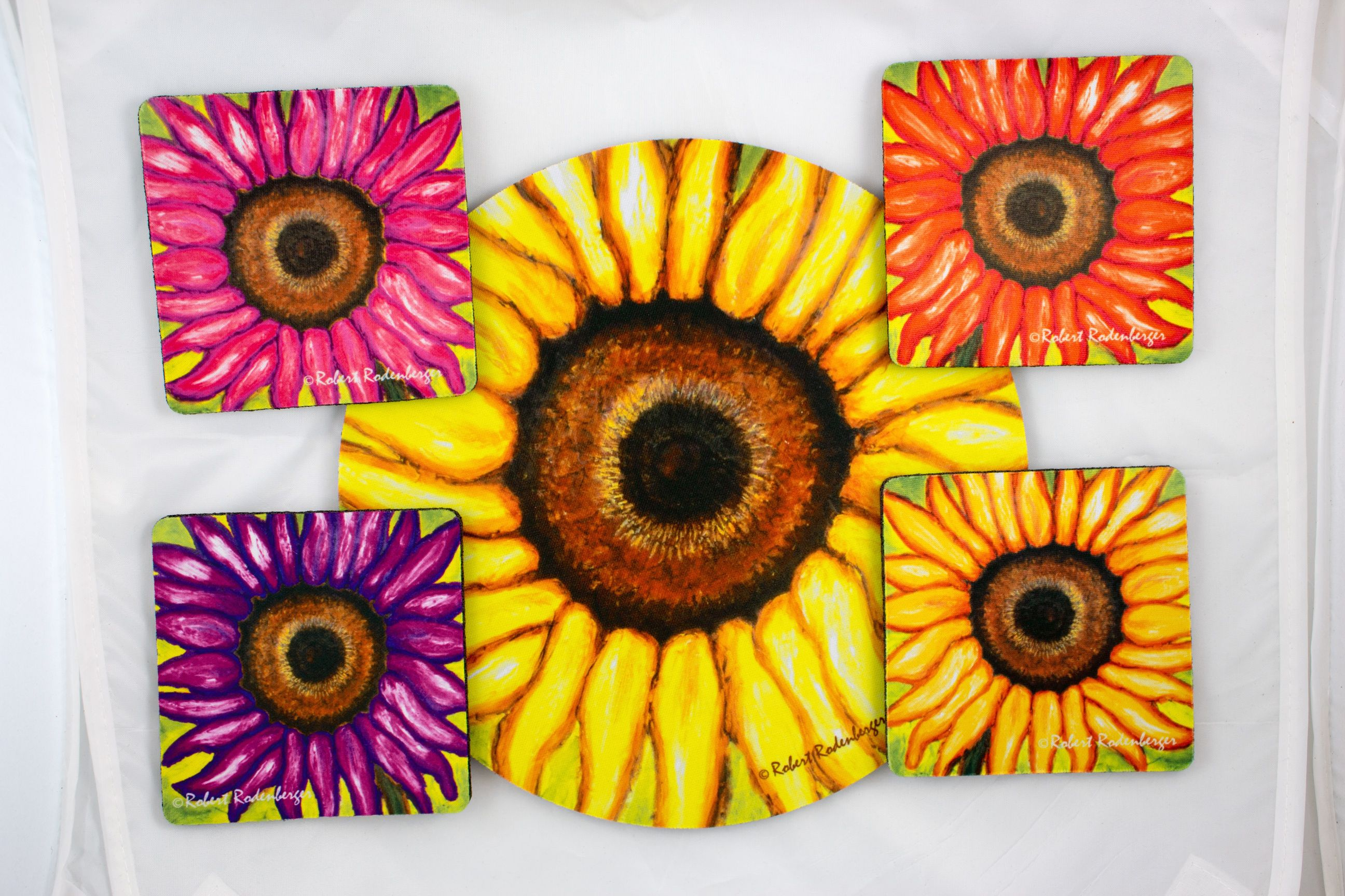 Sunflower Colors Hostess Coast Set