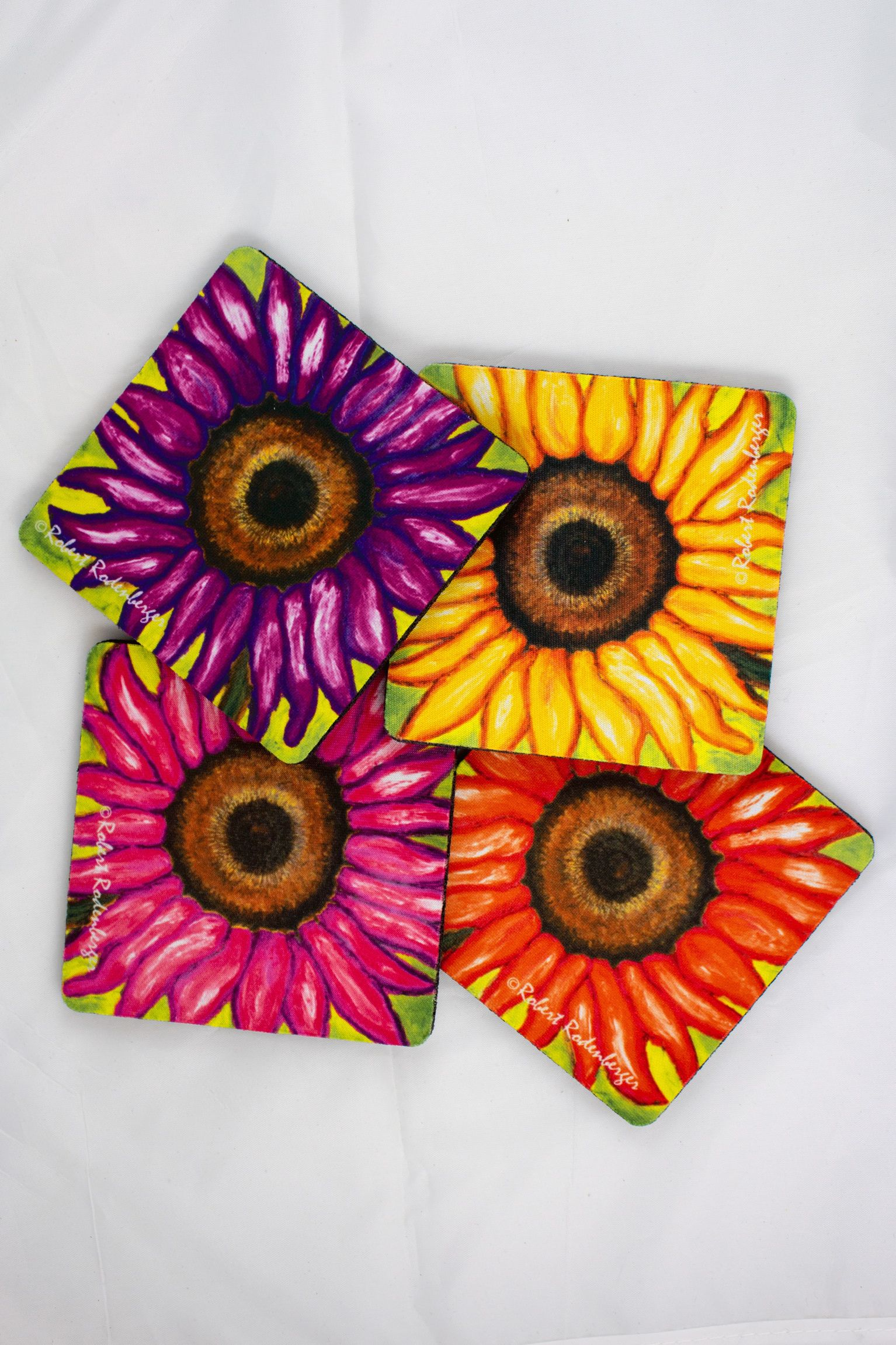 Sunflower Colors Coaster Set