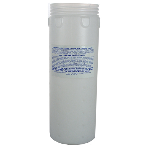 Chemical Dispenser, Floating, JED, Replacement Canister