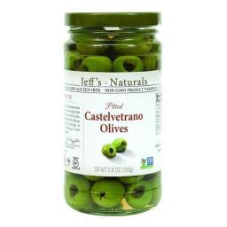 Olives Pitted Castelvtrno ( 6 - 5.5 OZ )