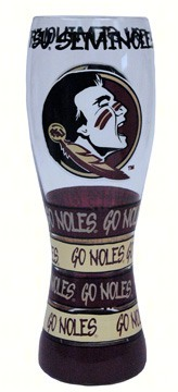 Pilsner Glass - Florida State Seminoles