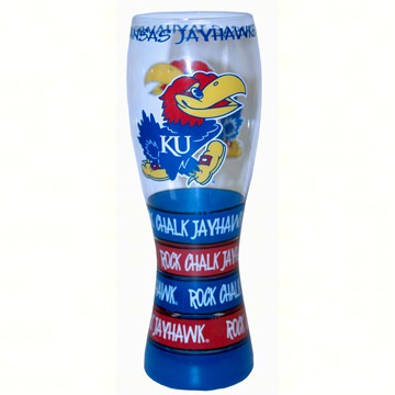 Pilsner Glass - Kansas Jayhawks