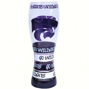 Pilsner Glass - Kansas State Wildcats