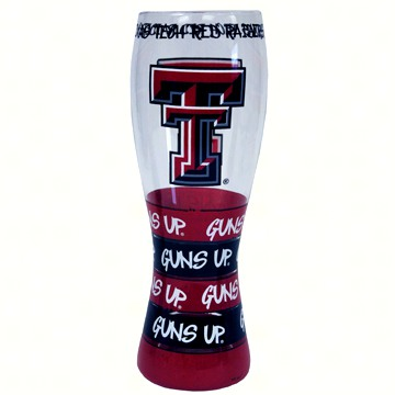 Pilsner Glass - Texas Tech Red Raiders